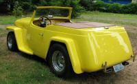 1950 Custom Willys Jeepster  Price: US $27,000.00