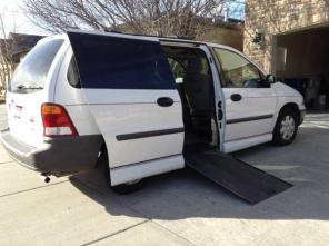 2001 FORD WINDSTAR HANDICAP ACCESSIBLE VAN MOBILITY