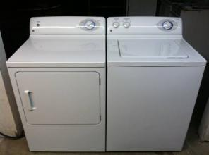 NICE NEWER GE WASHER DRYER SET. L@@K SHARP. @982*O4O1**Y PAY MOR